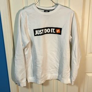 "Nike ""Just Do IT"" Crewneck Sweatshirt"